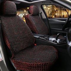 pinganzhe  汽车新款绿檀木木珠座垫  红酸枝原木 夏季凉垫图片