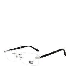 MontBlanc/万宝龙 睿智进取系列MB449经典六芒星标识钢笔镜腿商务总裁款男士光学眼镜图片