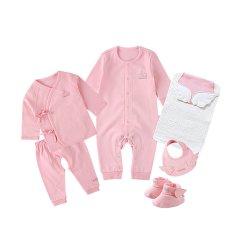Anne Geddes安妮.格迪斯 天使系列  新生儿全棉纯净海洋礼盒6件套 181666 男宝女宝图片