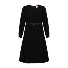 【17春夏】MaxMara/麦丝玛拉 优雅轻薄收腰中长款女士连衣裙 DONARE62210477图片