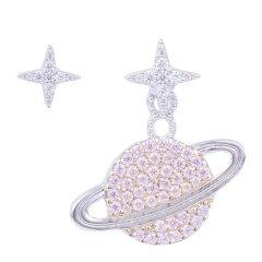 APM MONACO/APM MONACO 女士925银锆石星球设计耳环耳饰 AE10559图片