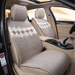 pinganzhe  汽车新款夏季纯手工编织冰丝凉垫 夏季冰丝座垫 汽车座垫 手工编织图片
