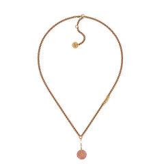DIOR/迪奥 19早秋新款 J'Adior Nuance镀金复古金属树脂圆珠水晶项链(2色可选)图片