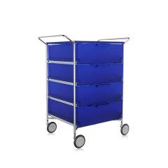 Kartell卡迪尔简约多功能收纳推车储物柜床头柜MOBIL图片