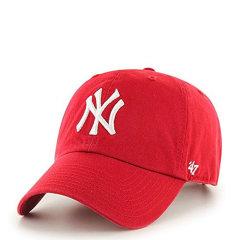 MLB/mlb棒球帽 男女大NY洋基帽弯檐 调节 嘻哈帽 鸭舌帽 潮  运动帽 RGW17GWS图片