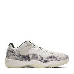 【限量款】Air Jordan 11 Low AJ11白蛇 蛇纹低帮篮球鞋 CD6846-002图片