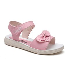 芝麻街 童鞋凉鞋2019夏季新款可爱公主风休闲凉鞋女童时尚公主鞋图片