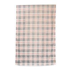 BURBERRY/博柏利 女士丝绸羊毛 格纹围巾/披肩围巾 8004544图片