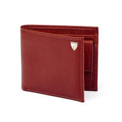 【19年秋冬新品】Aspinal of London 男士小牛皮双折钱包卡包图片