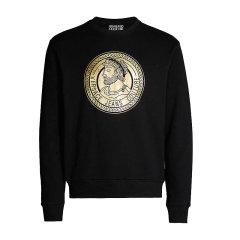 VERSACE JEANS/范思哲牛仔新款棉质金色徽标印花男士卫衣EB7GUA7FS E30219图片
