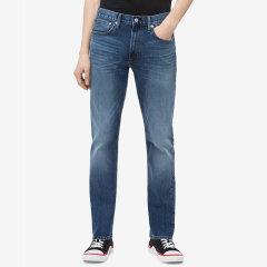 Calvin Klein Jeans/Calvin Klein Jeans 19新款男士 运动款锥型修身牛仔裤 M6545493图片