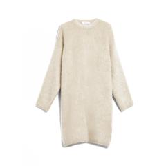 MaxMara/麦丝玛拉  19秋冬女士新款马海毛和羊毛高领连衣裙 1326119606001图片
