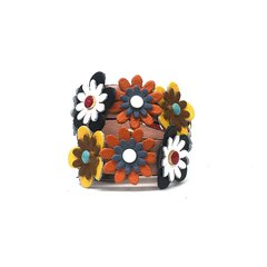 PIUMELLI/PIUMELLI意大利小众女士Flowermulticolor撞花系列牛皮包包短肩带图片