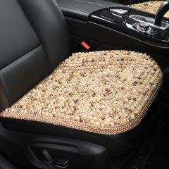 pinganzhe  汽车新款夏季菩提子珠子座垫 夏季凉垫 汽车车家两用单片座垫 三件套 菩提珠头枕图片