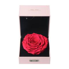 JoyFlower情人节进口永生花礼盒生日礼物十二星座永生玫瑰花-12种颜色定制图片