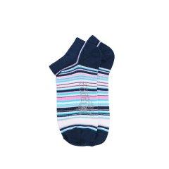 【19春夏】男士轻棉船袜 时尚条纹短袜子休闲运动浅口袜图片