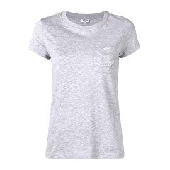 Kenzo 高田贤三 19春夏 女士棉质虎头LOGO标识短袖T恤图片
