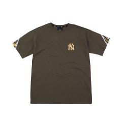 MLB 韩版 男女同款  纽约洋基队 rounding tape 短袖T恤 31TSS5931图片