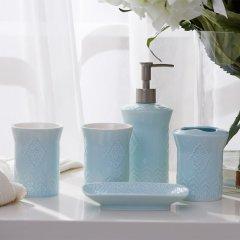Rehome 美克美家旗下卫浴洗漱套装五件套乳液瓶牙刷杯漱口杯皂碟图片