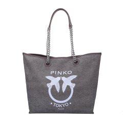Pinko/品高 女士帆布可拆卸子母袋手提包 单肩包 购物袋 1P214Z图片