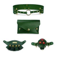 【Designer Bags】【19春夏】GOFEFE/郭飞飞末日小姐 Doom-D骷髅/手套换脸Skull Captain牛皮女士信封包/复古腰包/手拿包图片