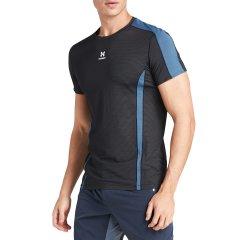 后秀/HOTSUIT  抑菌防臭男跑步短袖衫吸湿排汗运动圆领短袖T恤图片