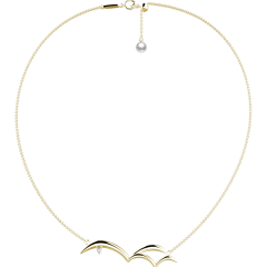 MOMIC/MOMIC饰品 海滩系列海燕优雅精致时尚项链吊坠图片