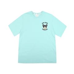 MLB 韩版 男女同款  纽约洋基队 CHIC BARK  短袖T恤 31TST6931图片