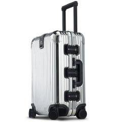 LIEMOCH/利马赫 智能防盗其它材质不锈钢旅行箱20寸登机箱其他材质中性款式拉杆箱TSA海关密码锁万向轮图片