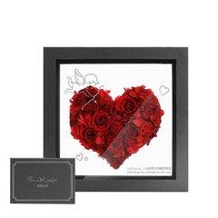 JoyFlower情人节进口永生玫瑰花礼盒-爱恋系列-一箭穿心图片