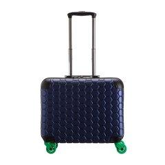 CARPISA男女通用树脂蜂窝状图案万向轮商务登机箱旅行箱行李箱拉杆箱20寸黑色20寸图片