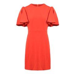MSGM/MSGM女士聚酯纤维拉链连衣裙 100140028BLK042图片