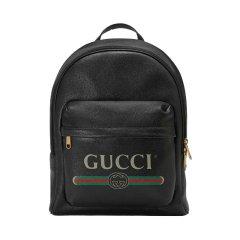 GUCCI/古驰 19春夏男士复古Gucci印花皮革背包 双肩包 547834 0Y2BT 8824图片