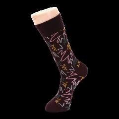 英国男士棉轻薄长袜长筒高筒袜时尚单品礼品袜图片
