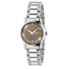 GUCCI/古驰 手表 表镜G-Timeless系列女表 粉红色表盘时尚 不锈钢手表 手表女 石英表 YA126526 / YA126445图片