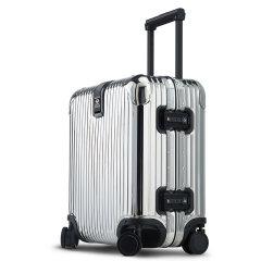 LIEMOCH/利马赫 智能防盗其它材质不锈钢密码登机箱18寸 TSA海关锁行李旅行箱中性款式其他材质金属拉杆箱图片