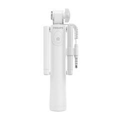Philips/飞利浦 线控自拍杆 DLK36005L苹果HUAWEI/华为 通用迷你可折叠伸缩直拉式自拍神器 手机支架图片