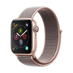 APPLE/苹果 watch4 Watch Series 4 金色铝金属表壳(40mm/44mm GPS/蜂窝 多款可选 )运动型表带 智能手表图片