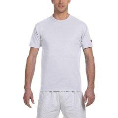 【经典款】Champion冠军 情侣款经典简约运动潮牌男女同款logo棉纯色 短袖 男士 女士 T恤图片