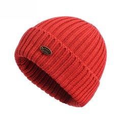 套头帽子女秋冬潮韩版毛线帽冬季纯色百搭日系可爱护耳针织帽图片