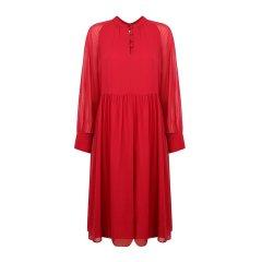 19春夏 MaxMara/麦丝玛拉 女士连衣裙 长袖雪纺连衣裙长裙FAZIO0图片