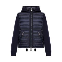 Moncler/蒙克莱  18秋冬新款SWEAT-SHIRT女士连帽拉链卫衣 (2色可选)图片