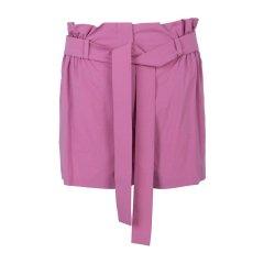 Moschino 莫斯奇诺 19春夏 女士棉质系带束腰修身时尚休闲短裤图片