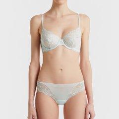 LAPERLA/萝贝拉女士内衣ROMANCE系列花纹刺绣舒适透气薄纱性感文胸图片