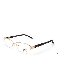 MontBlanc/万宝龙 MB385锐意进取行政系列尊贵六芒星标正装职业经理人款绅士光学眼镜图片