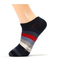 CORGI/CORGI英国王室御用品牌百搭多色条纹男袜复古手工船袜短袜图片