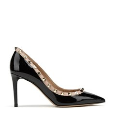 VALENTINO/华伦天奴 2019春夏新款进口牛漆皮超高跟女单鞋图片