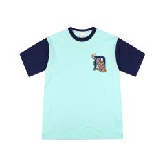 MLB 韩版 男女同款 底特律虎 短袖T恤 31TST7931图片