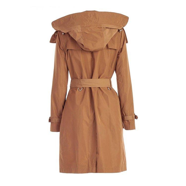 BURBERRY/博柏利 20年秋冬 服装 女性 时尚 驼色 女士风衣 8006112