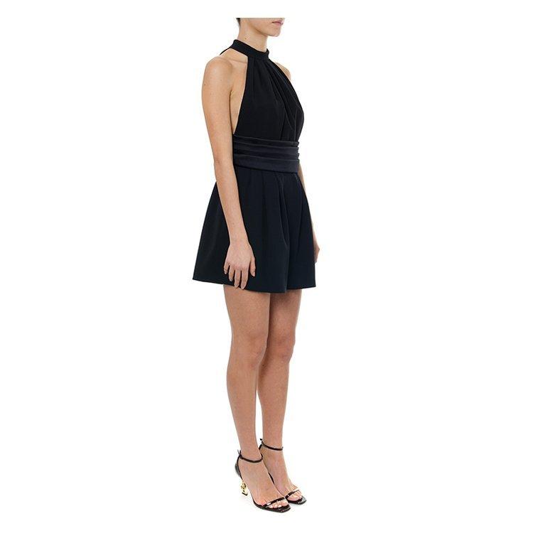 SAINT LAURENT PARIS/SAINT LAURENT PARIS 19年春夏 服装 时尚 女性 黑色 女士连衣裙 552680 Y061U 1000